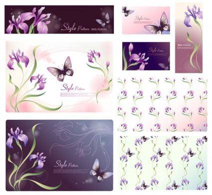 free vector Dream flowers vector 17