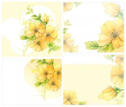 Dream flowers vector 6