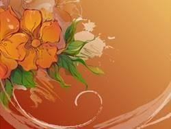 Dream flowers vector 10