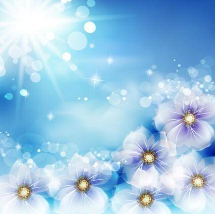 free vector Sun flowers vector dream