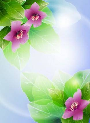 free vector Beautiful flowers vector 3