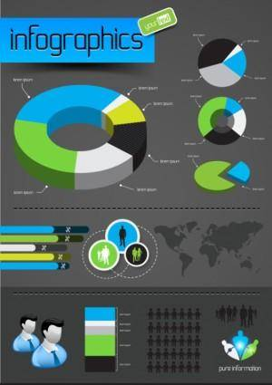 Information graphics 01 vector