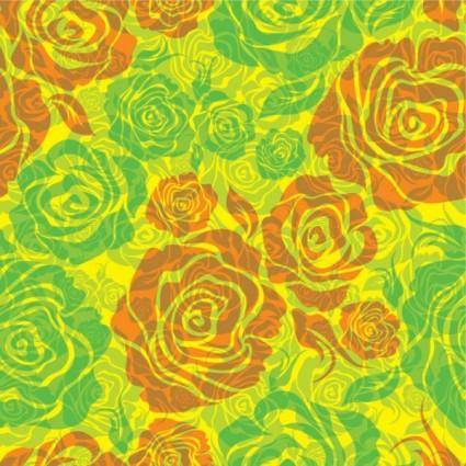 free vector Flowers shading pattern 01 vector