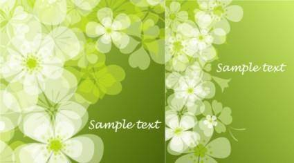 Fresh summer flowers vector background 1 mirage