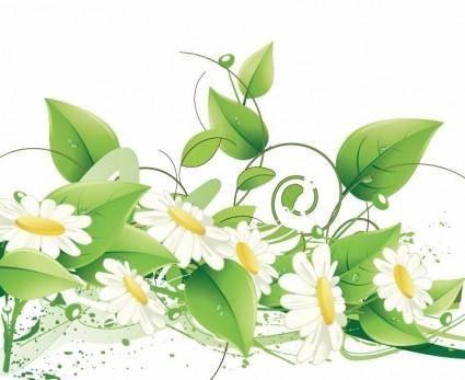 free vector Elegant Floral Vector Background