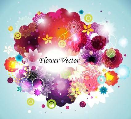 free vector Abstract Flower Vector