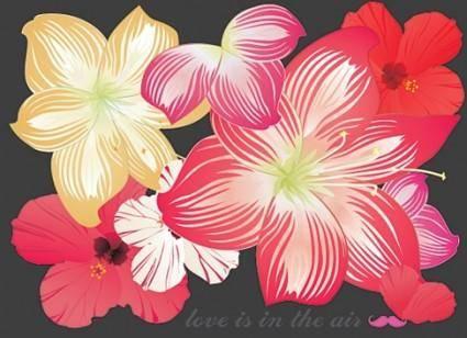 free vector Free Flower Vectors