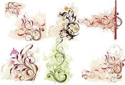 free vector Swirl Flower Vector