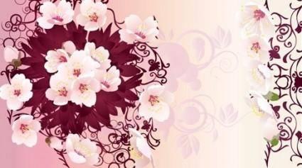 free vector Free Rain Flowers Vector Graphic