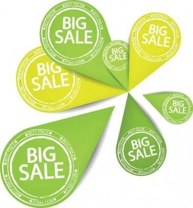 Special sales discount graphic design vector 1