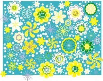 free vector Flowers present