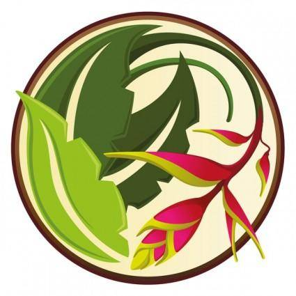 free vector TROPICAL FLOWER