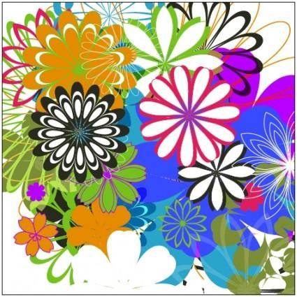 Random Free Vectors - Part 7: Flowers