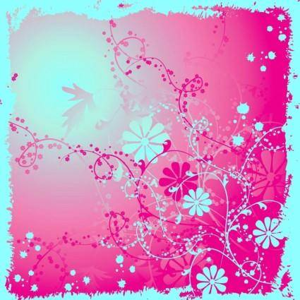free vector Flower Layout