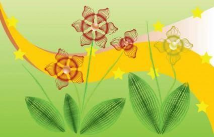 Flowers Computer Graphics