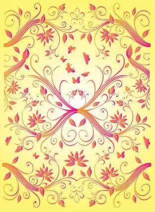 free vector Free Summer Flowers Vectors