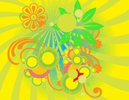 free vector Summer Flowers Graphics