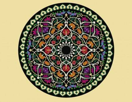 free vector Flower Circle