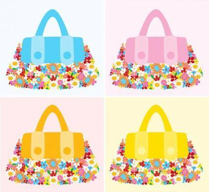Fashion Accessories Flower Bags