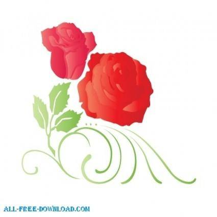 free vector Beautiful natural flower