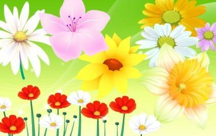 free vector Flower Vector