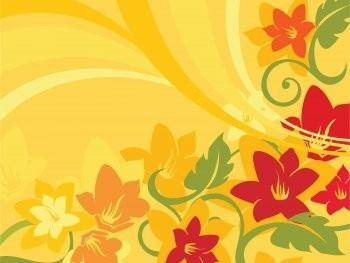 Summer Flowers Vector Art, Summer Vector Design EPS