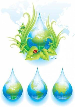 Environmental theme vector 1
