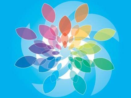 free vector Blue Colored Background Vector Design