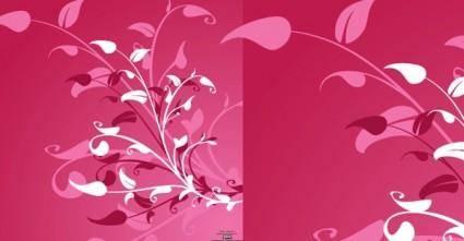 Vector Flower Decoration Background