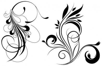 free vector Free floral vector