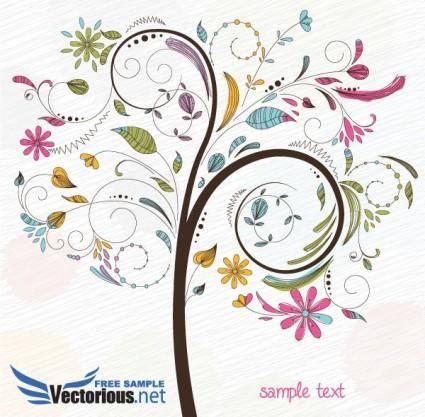 free vector Free tree vector illustration