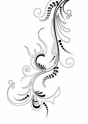 free vector Floral Ornaments 4