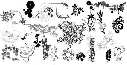 free vector Vector ornaments