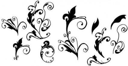 free vector Curly vector