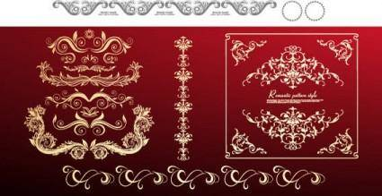 free vector Vector decorative ornaments