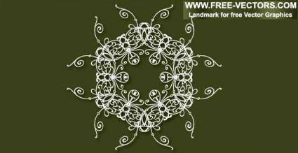 Decorative free vector