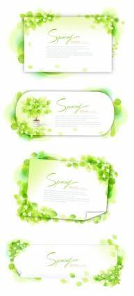 The green glow of the letterhead vector