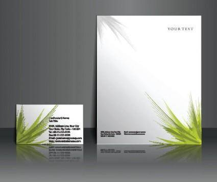 free vector Commercial style templates 03 vector