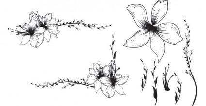 free vector Free Floral Clip art Vector