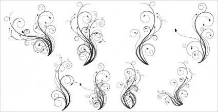 free vector Free Vector Flourishes