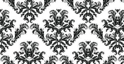 free vector Free damask seamless pattern