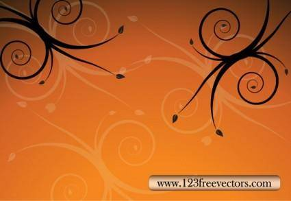 free vector Floral Background Vector
