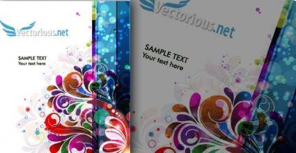 free vector Abstract Colorful Background Vector Illustration