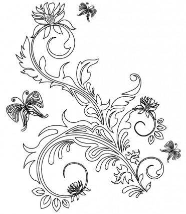 free vector Floral Ornaments 2