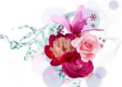 Vector Flower Art