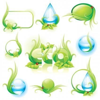 free vector Environmental theme 02 vector