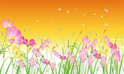 free vector Free Vector Flowers 07