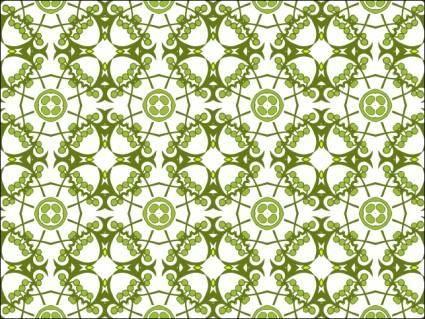 free vector Flora Wallpaper