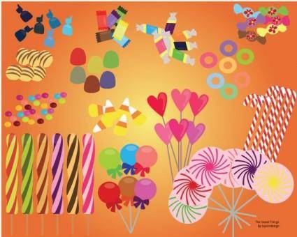 free vector Vector Candies and Sweets