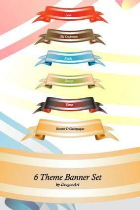 Theme Colored Banner Set 21508